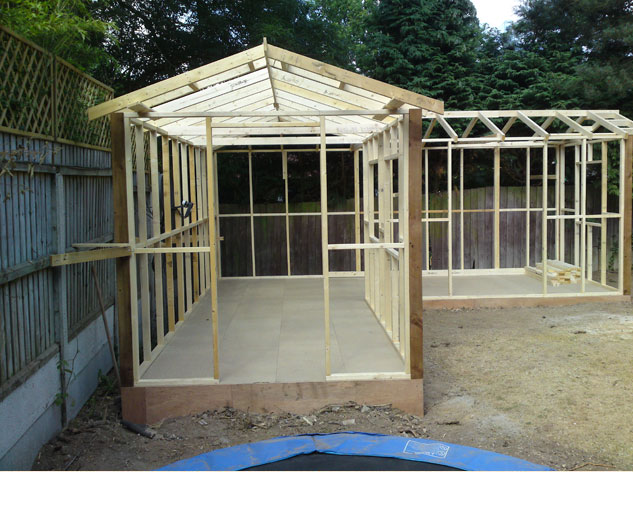 Roza this is garden sheds essex for Man cave shed plans